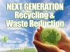 "Version 1 White, Book Cover Design for ""Next Generation Recycling & Waste Reduction"" by Professor John Dernbach"