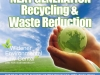 "Version 2 Blue, Book Cover Design for ""Next Generation Recycling & Waste Reduction"" by Professor John Dernbach"