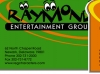 Business Card design for Raymond Entertainment. These business cards were part of a complete web/print identity package designed for each client.