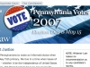 Widener Law Election Site 2007