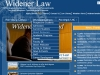 Widener Law Home Page with Navigation