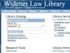 Widener Law Library