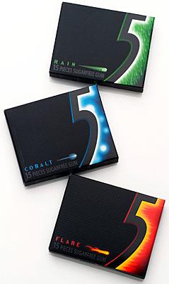 5 gum package