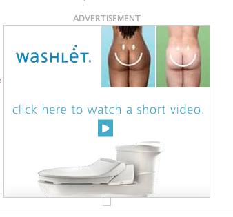 washlet ad